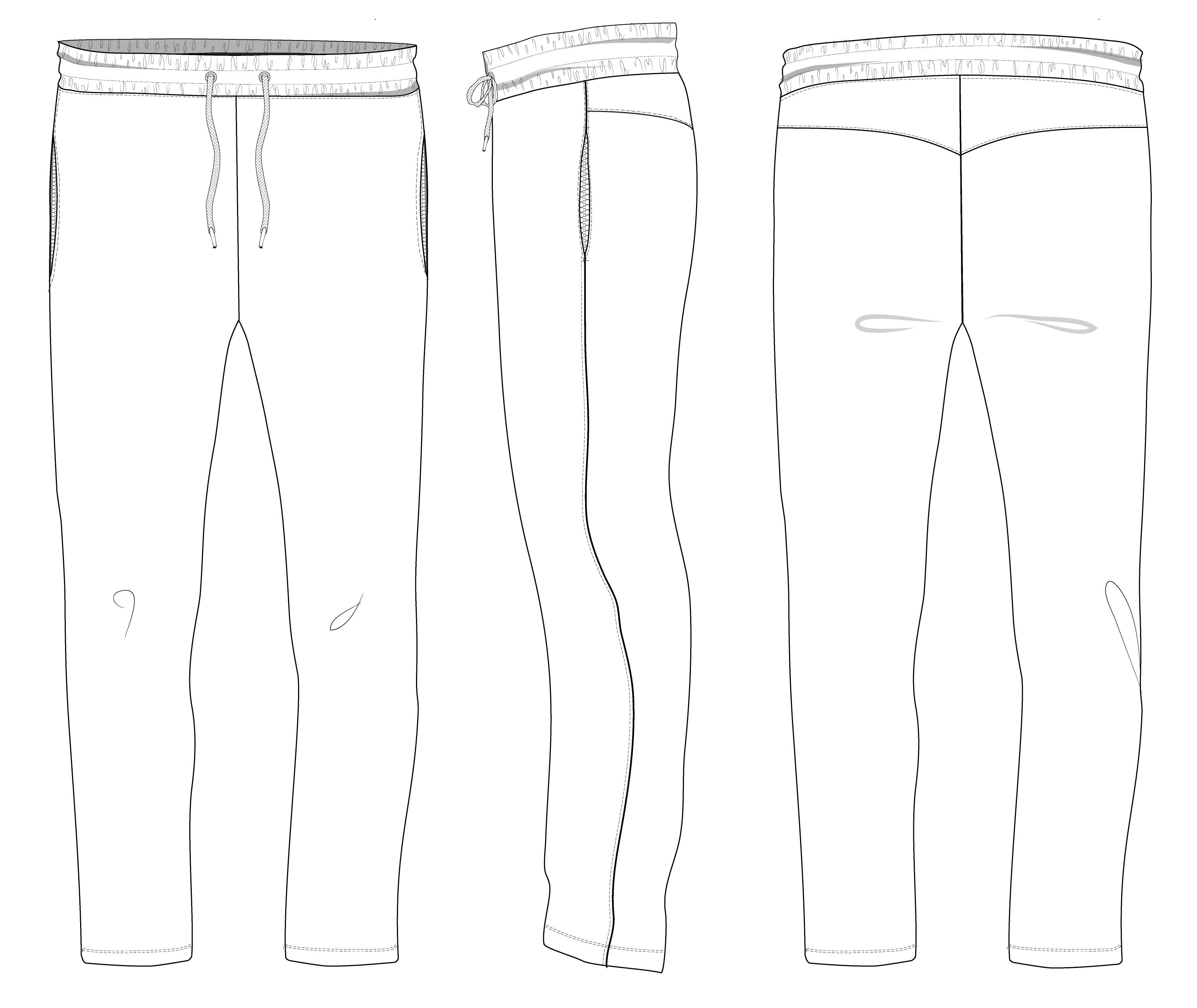 Трикотажные брюки мужские