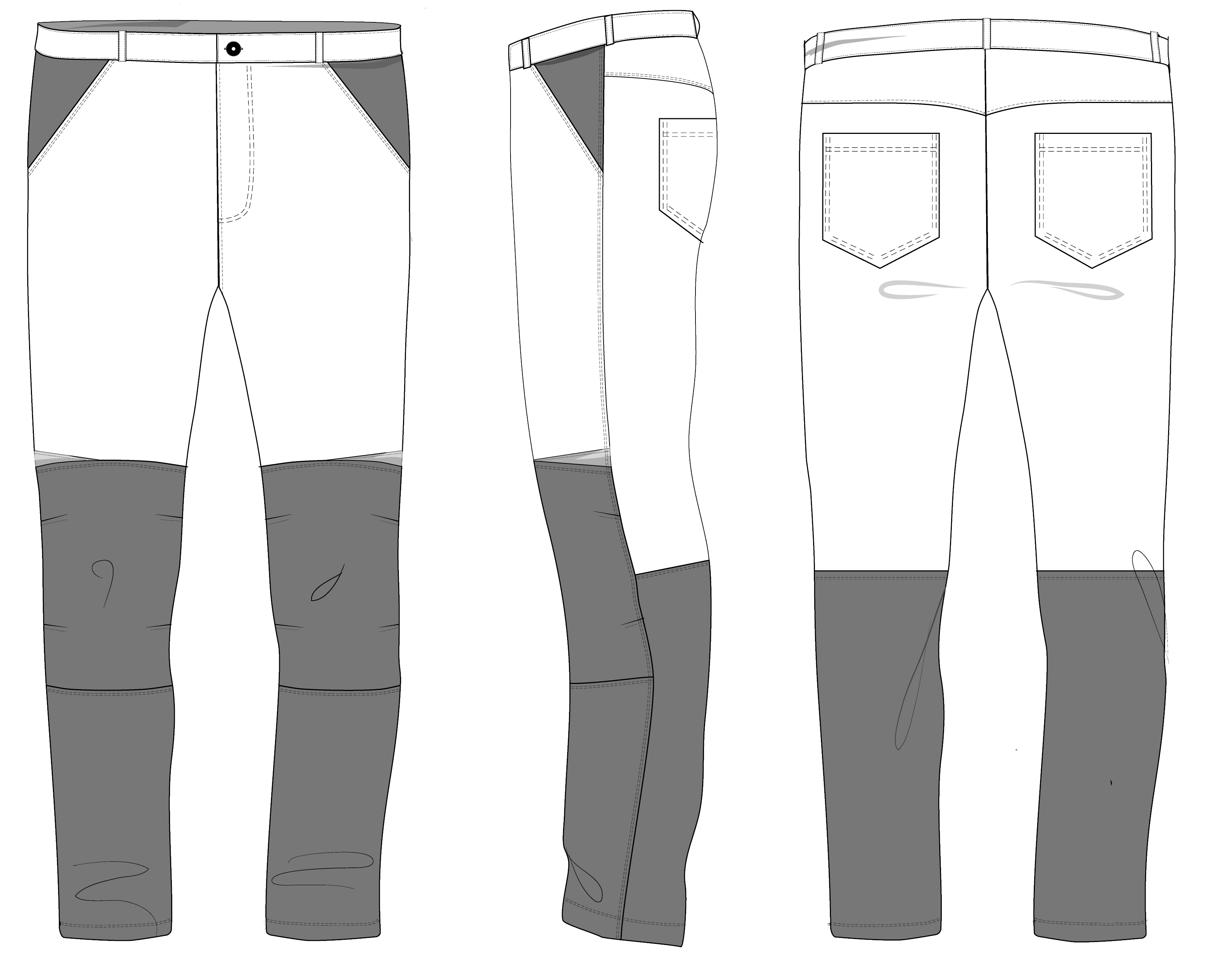 Брюки мужские Vest