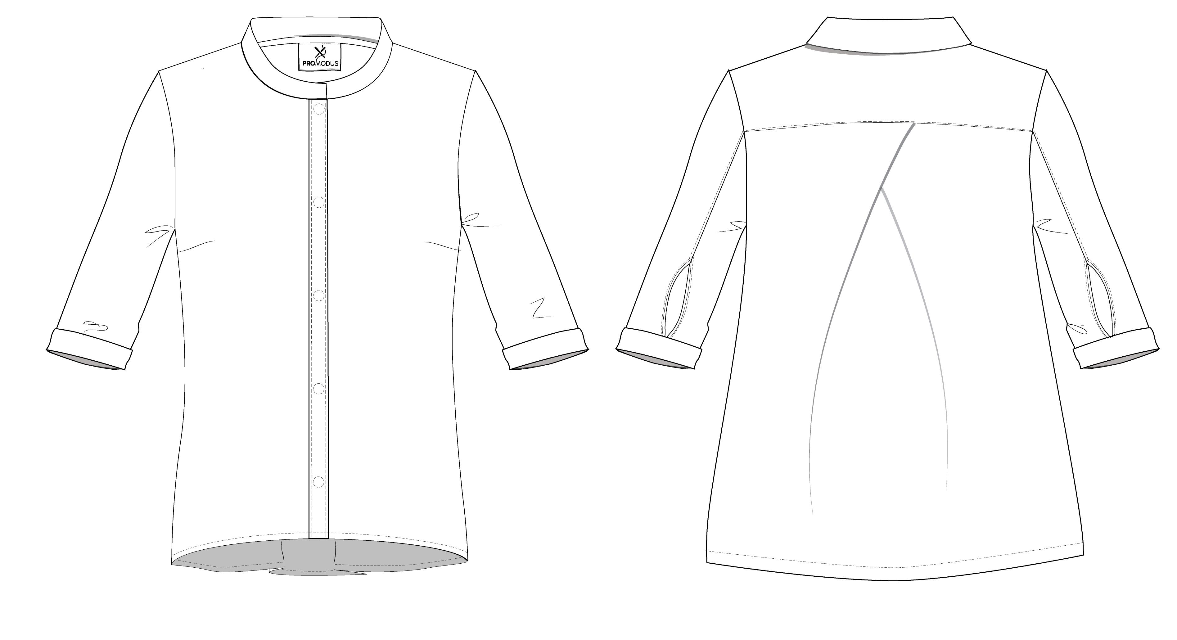 Рубашка женская Аsymmetric