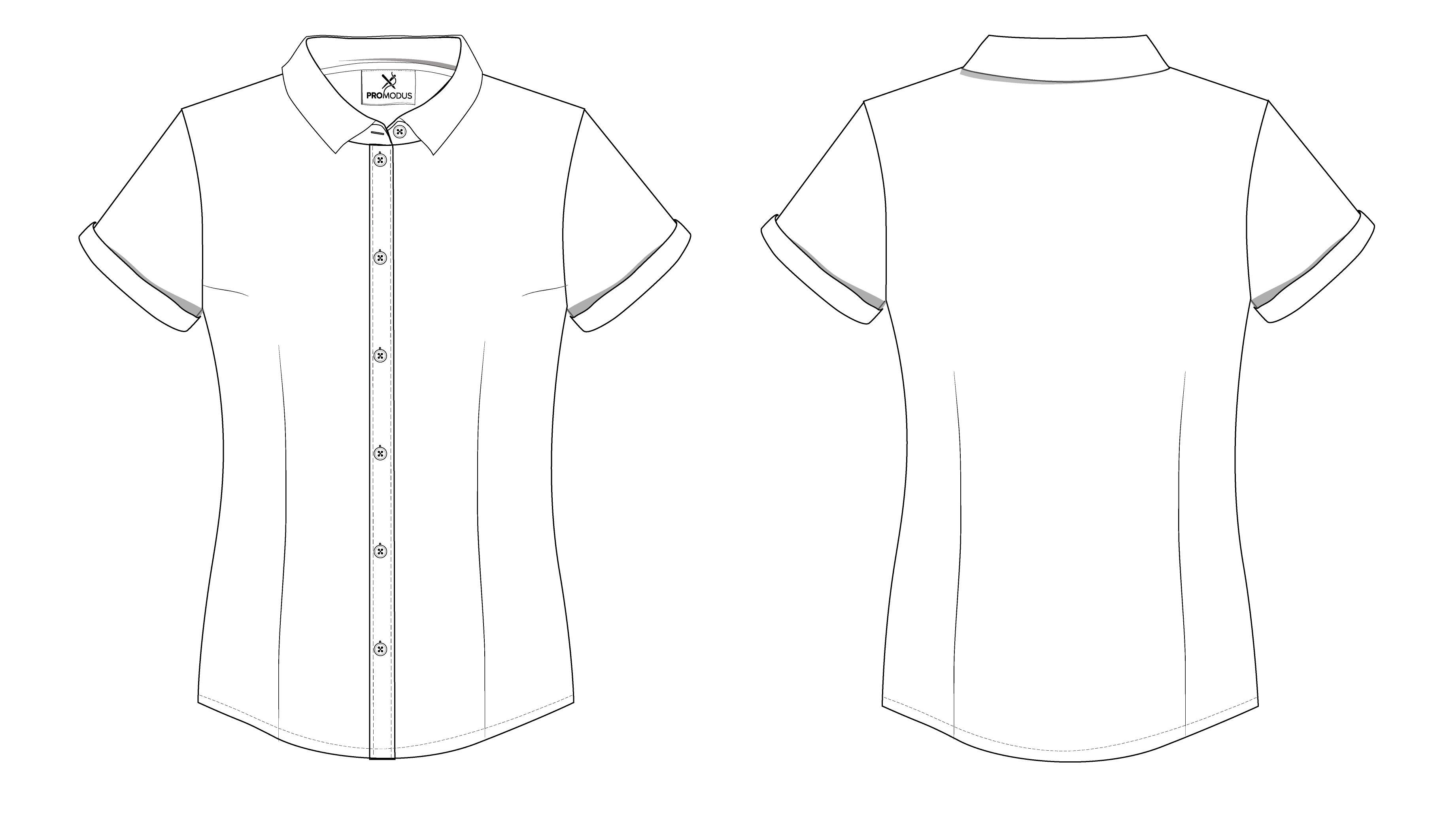 Рубашка женская Basic