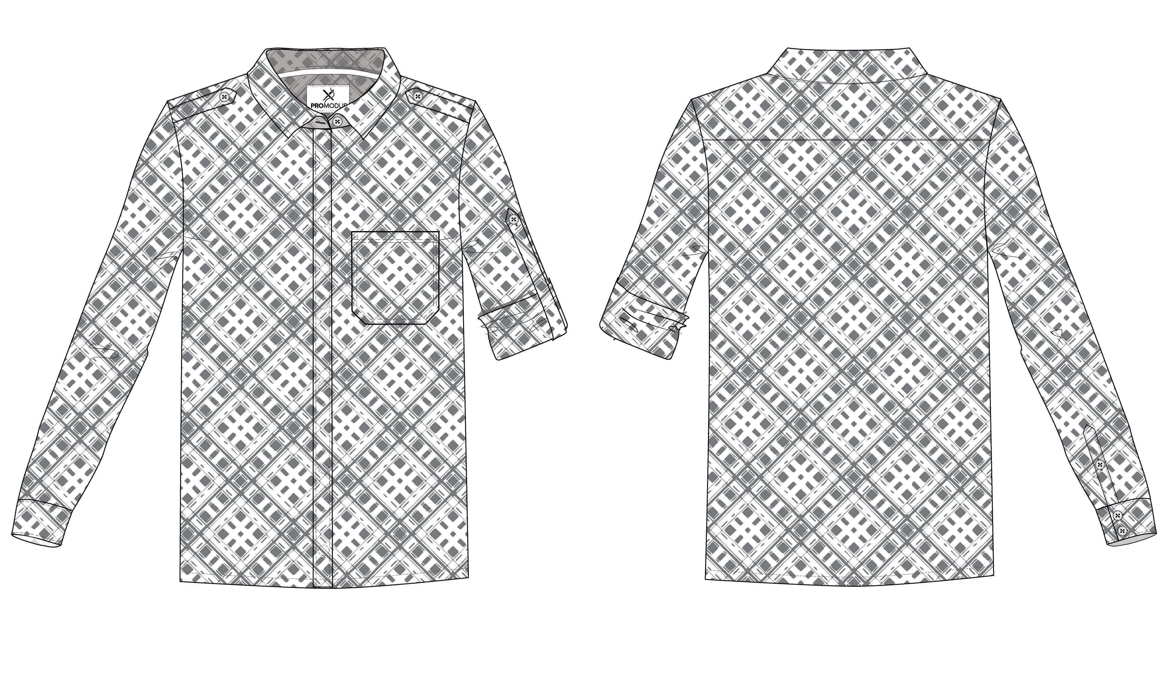 Рубашка женская Boyfriend